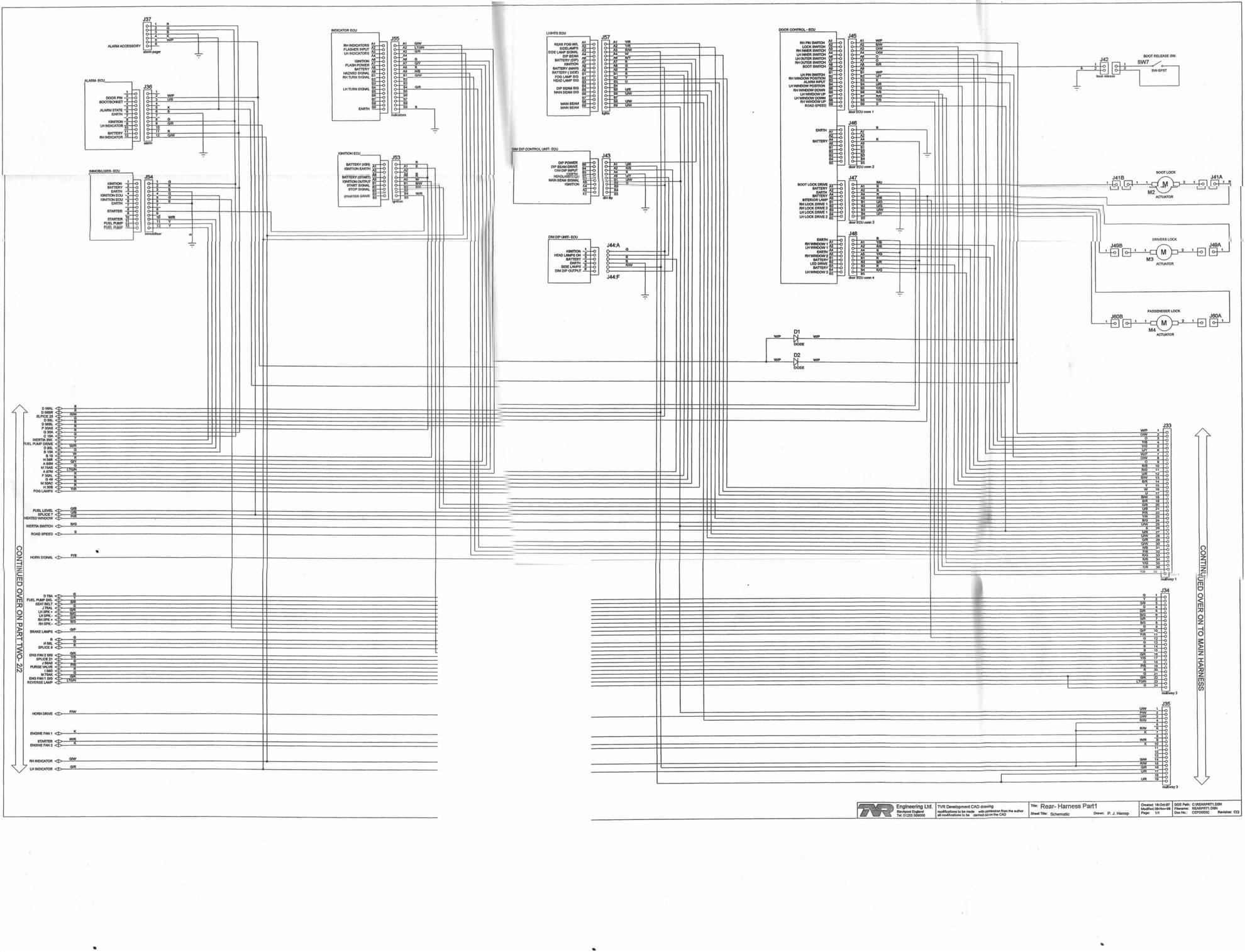 rear harness part 1. Black Bedroom Furniture Sets. Home Design Ideas